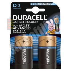 Duracell Duralock Ultra Power Batterijen D2