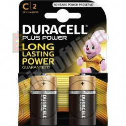 Duracell Plus Power Batterijen C2