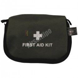 First Aid Kit, small, OD green, 14 x 9 x 5 cm