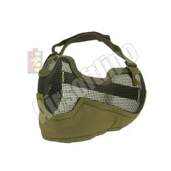 Steel Face Mask OD Green