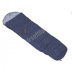 Sleeping Bag, blue, lining 450g qm, polyester